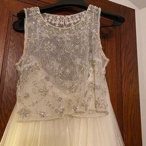 Beautiful Bhldn top and Jenny Loo skirt